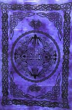 Tapestry Celtic Peace Sign Design Small Poster Cotton Wall Hanging Table Cover