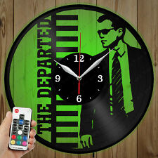 LED Vinyl Clock The Departed LED Wall Art Decor Clock Original Gift 4926