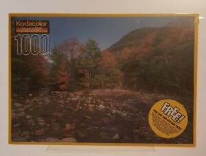 Kodacolor 1000 Piece Puzzle Saco River White Mountains NH Brand New
