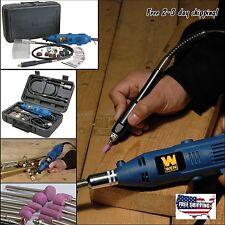 Rotary Cut Drill Power Dremel Tool Kit WEN 2305 Flex Shaft Variable Speed Grind