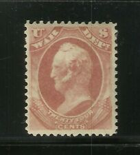 More details for usa 1873 24c red war dept classic united states mint mh old us collection