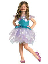 Princess Ariel Mermaid Disney Book Week Fairytale Toddler Girls Costume 3T-4T