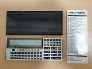 Pocket Personal Computer CASIO FX-880P, Scientific Library 116, BASIC PC #812