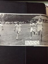 68-2  ephemera 1967 Picture Sports Day Colin Davey Chatham House 100 Yards