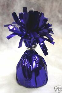 Balloon Weights PURPLE party favors 6.2 oz