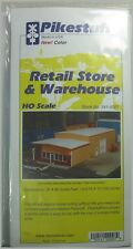 Pikestuff HO Scale 541-0007 Retail Store & Warehouse