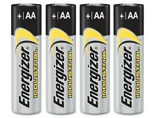 Energizer Industrial AA Alkaline Battery EN91 - Pack of 4