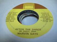 Soul 45 MARVIN GAYE After the Dance on Tamla