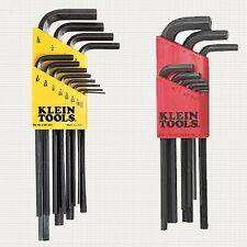 Klein Tools LMK10 + LLK12 21PC Allen L-Style Metric/SAE Hex-Key Set w/Caddy's