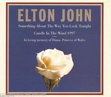 ELTON JOHN - Something About.../Candle In The Wind 1997 (UK 3 Tk CD Single)