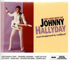 JOHNNY HALLYDAY - THE VERY BEST OF.../TOUT SIMPLEMENT MEILLEUR!   *NEW CD ALBUM*