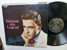 EDDIE COCHRAN Portrait Of A Legend LP rockabilly VG++ reissue Lc367