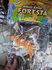 kit gioco animali piccoli savana tigre zebra animal toy giocattolo plastica