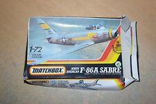 MATCHBOX 1:72 F-86A SABRE   40032