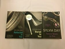 3x Sylvia Day Books Bared To You Reflected In You Seven Years To Sin Erotic Adul