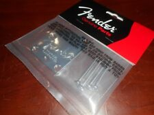 NEW - Genuine Fender Deluxe Strat Neck Plate - CHROME, 005-9209-049