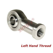 SSPHS8L LEFT HAND Thread Stainless Female Rod End 8mm Bore M8 Thread