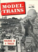 model trains Model Railroading Made Easy magazine Summer 1961 Fair Condition