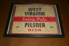 WEST VIRGINIA EXTRA PALE PILSNER BEER FRAMED PRINT