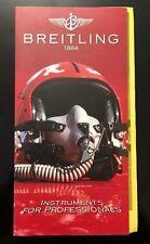 Original Breitling - Vintage Katalog Brochüre 1994 + Preisliste Top