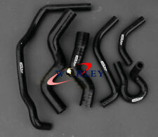 For 1990-1997 Holden Rodeo TF 2.8L Turbo Diesel silicone radiator hose BLACK