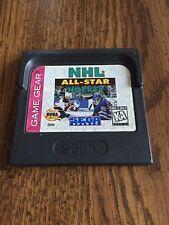 NHL All-Star Hockey (Game Gear GG) CARTRIDGE ONLY