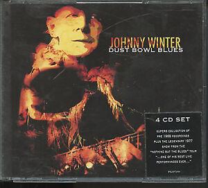 Dust bowl blues COFANETTO 4 CD Johnny Winter