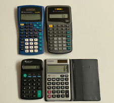 Texas Instruments and Other Calculator Lot Casio Ti-34Ii/ Ti-30xA Sl-310Sv