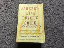Parker's Wine Buyer's Guide No. 7 Book - NICE!