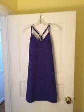 NWOT  Womens Size XS ATHLETA * Lightweight Purple Dress With Padded Bra