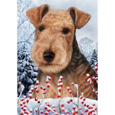 Winter Garden Flag - Lakeland Terrier 152341