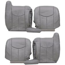 2003 To 2006 Chevy Silverado Front full set Package Seat Cover pewter gray-922