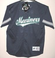 Ichiro Suzuki Seattle Mariners Jersey Youth Large Navy Dynasty MLB