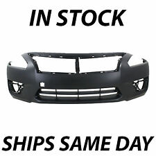 NEW Primered - Front Bumper Cover Replacement for 2013-2015 Nissan Altima Sedan