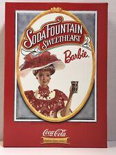 Soda Fountain Sweetheart Barbie New In Box 1996 Mattel