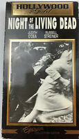 Night Of The Living Dead (VHS) HOllywood Gold Release 1968 Horror Cult Classic
