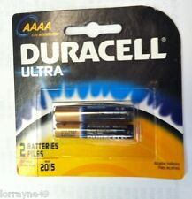 Battery; Alkaline; DURACELL Ultra Digital; Size:AAAA; 2 Batteries Per Pack