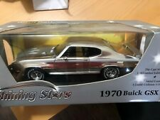 American Muscle 1/18 1970 Buick GSX Shining Stars Chrome New