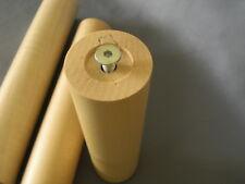 4 set Acero bettfüße Piede per mobile in legno rotondi couchfüße M8 laccato H-