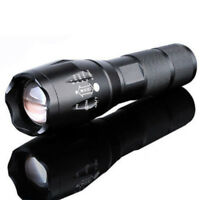 10000Lm XM-L T6 Zoomable Tactical Outdoor Flashlight Army Torch Strong Light Set