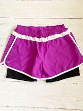 Athleta Purple Magenta Running Shorts M