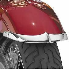 NATIONAL CYCLE CHROME FRON FENDER TIPS SUZUKI VL1500 INTRUDER LC 98-04