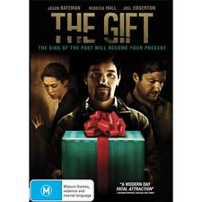 The Gift-Jason Bateman, Rebecca Hall-Region 4-New And Sealed