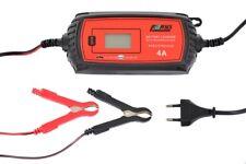 Batterieladegerät 6/12 Volt 4A LCD Erhaltungsladegerät KFZ Motorrad PKW FARYS