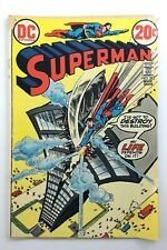 Vintage 1971 Superman Number 262 DC Comic Book P985