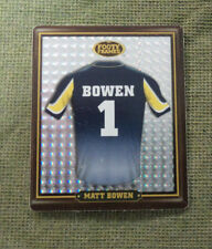 2009 NORTH QUEENSLAND COWBOYS  RUGBY LEAGUE FOOTY FRAME TAZO  #14 MATT BOWEN
