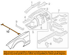 FORD OEM 10-14 Mustang Fender-Tie Bar AR3Z16A200A