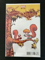 UNBEATABLE SQUIRREL GIRL #1D MARVEL COMICS 2015 NM+ SKOTTIE YOUNG VARIANT