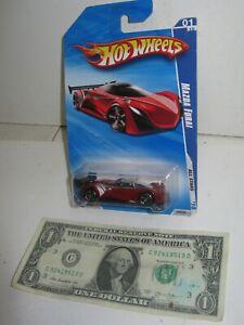 Hot Wheels Red  Mazda Furai - All Stars - 2009