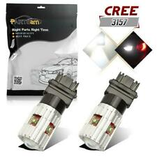 Bright White 3156 3157 Cree 25W Projector LED Canbus Reverse Backup Light Bulbs